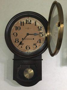掛け時計・古時計の買取り(精工舎・セイコー)杉並区・浜田山駅