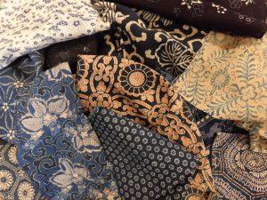 古布の買取り(藍染・型染木綿)長野県松本市