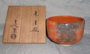 小川長楽の買取り(茶道具)東京都立川・立川駅