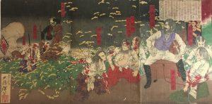 絵画・木版画の買取り(浮世絵・月岡芳年)三鷹市・井の頭公園駅
