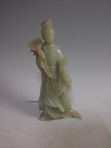 中国美術の買取(玉製・美人像)杉並区善福寺