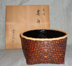 茶道具の買取り(炭斗)杉並区・久我山駅