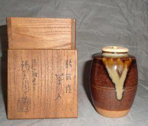 茶道具の買取り(膳所焼・茶入)千葉県市川市・菅野駅