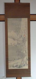 掛軸・書画の買取り(奥原晴湖)茨城県水戸市