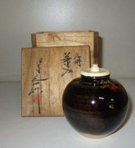 横浜市栄区にて茶道具・茶入買取(京焼・桶谷定一)