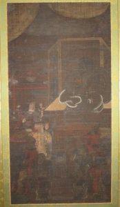 東京都国立市にて江戸期仏画を買取致しました(絵画・掛軸買取)