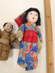 東京都武蔵野市より豆市松人形の買取